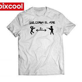 Camiseta que corra el aire